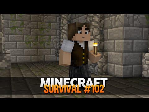 Minecraft Survival #102: Explorando a Stronghold!