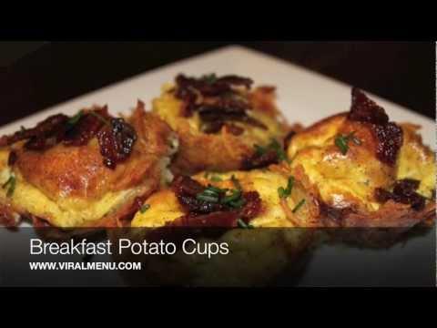 Breakfast Potato Cups - Viral Menu