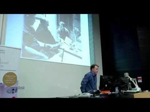 Dr Chris Jeffery talks at University of Queensland