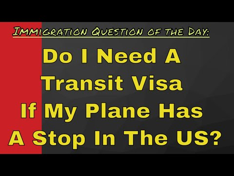 Do I Need A Transit Visa If My Plane Has A Stop In The US?