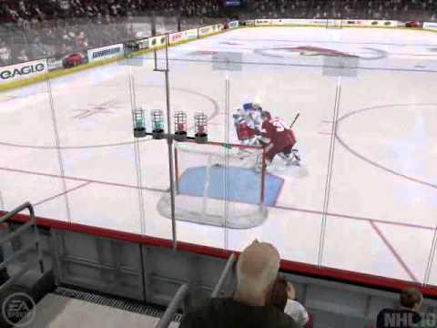NHL 10 - Funny Shootout Goal