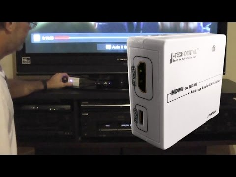 HDMI Audio Extractor For Roku 3 Or Any Media Device