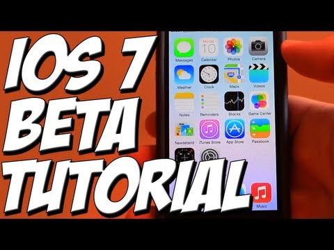 How To Get iOS 7 - Free Beta Tutorial - HOW TO GET iOS 7 FOR IPHONE FREE - EASY TUTORIAL