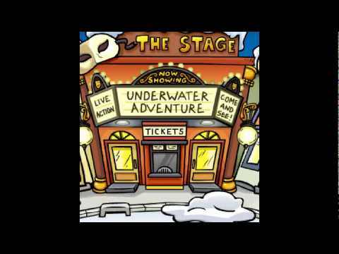 Club Penguin Stamps - Stage Crew Stamp
