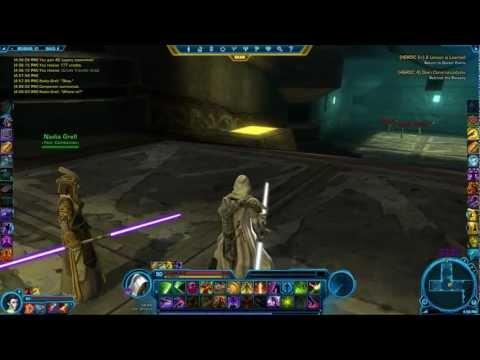 SWTOR: White lightsaber, Purple lightsaber 1.1.5