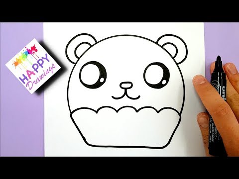 Xxx Mp4 HOW TO DRAW A CUTE PANDA CUPCAKE EASY STEP BY STEP 3gp Sex