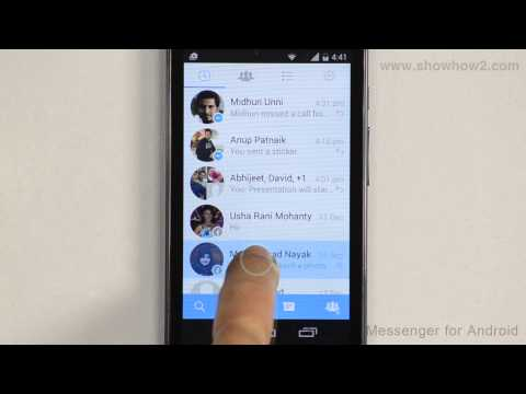 Facebook Messenger For Android - How To Create A Chat Shortcut On The Home Screen