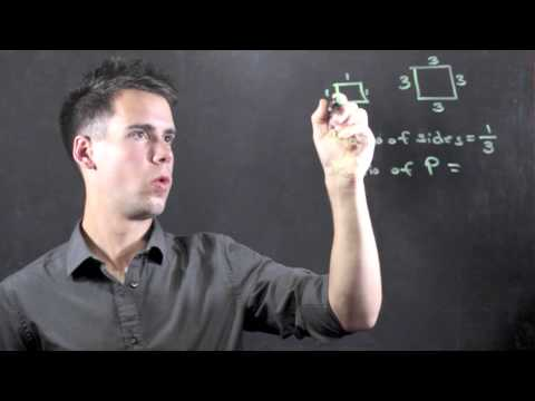 How to Find the Ratio of the Perimeter of Two Polygons : Math & Physics Lessons