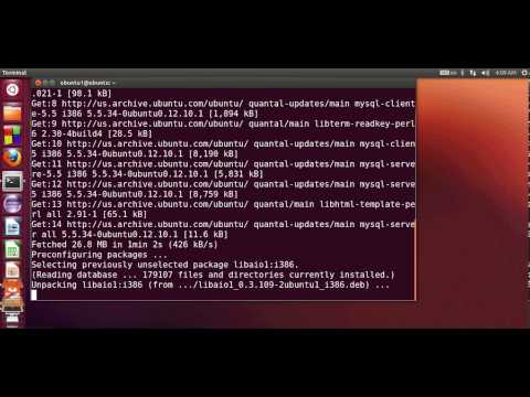 Beginners MYSQL Database Tutorial # How to install MySQL on Ubuntu/Debian Linux