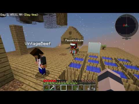 Minecraft - Sky Factory #3: The Great Rubber Tree