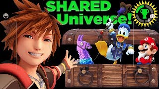 Download Game Theory: All Games are CONNECTED! | How Fortnite, Doom, and Kingdom Hearts Share a Universe Video