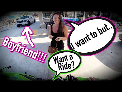 Offering Girl a Ride on Motorcycle... / Epic Fail / Katies Cars & Coffee / Mini Joe #15