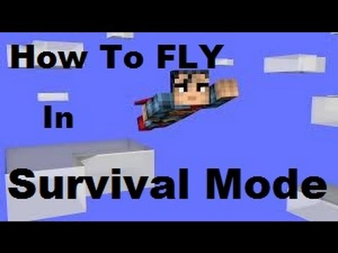 Minecraft (PS3 / XBOX360) How To Fly In Survival - Still Works In TU31