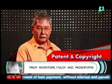 Balitaan: Pinoy Inventors, Ituloy ang Pagsuporta: Intellectual Property Code of the PHL [03/06/14]