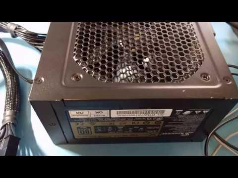 SeaSonic X series power supply failure bench test