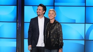 Lin-Manuel Miranda Busts Out Rhymes with Ellen