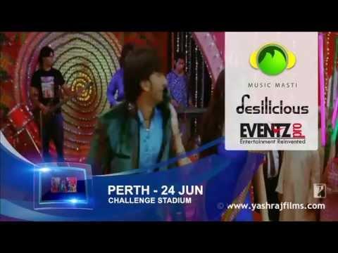 Bollywood Sensation SUNIDHI CHAUHAN in PERTH, W.AUSTRALIA, 24-JUN-2012 @ Challenge Stadium PERTH