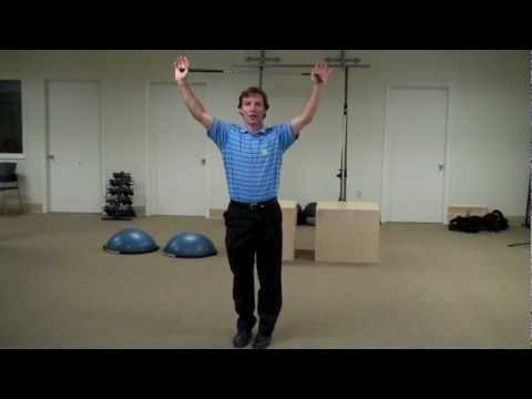 Golf Fitness Exercise- Lunge With a Twist to Improve Hip Strength