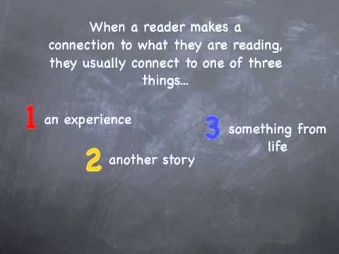 Reading Comprehension Strategy- Making Connections