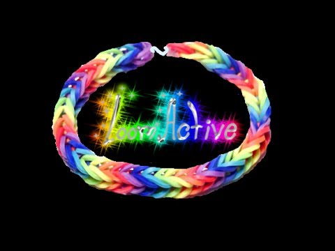 How To Make a Starburst Loom Band