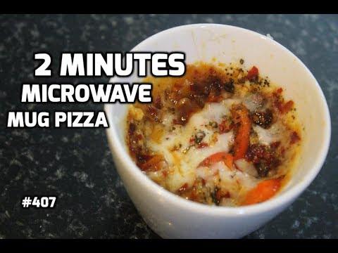 Mug Pizza    Homemade Pizza Recipe in Hindi    Pizza in Microwave Recipe   