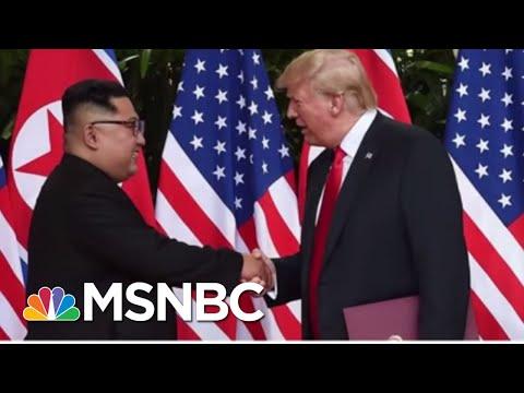 President Donald Trump's Art Of The Film...Movie Trailer Diplomacy   MSNBC