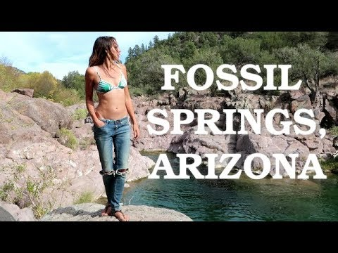 Late Fall Snorkeling at Fossil Springs, Arizona