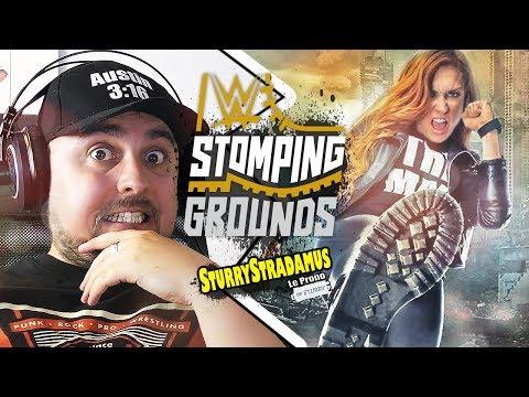Xxx Mp4 Sturrystradamus Le Prono De WWE Stomping Grounds 3gp Sex