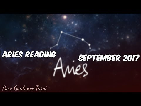 Aries Tarot September 2017 - Stay determined & make the difficult decision!