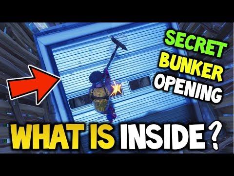 What is INSIDE Wailing Woods SECRET BUNKER - Fortnite Battle Royale Wailing Woods Secret Bunker