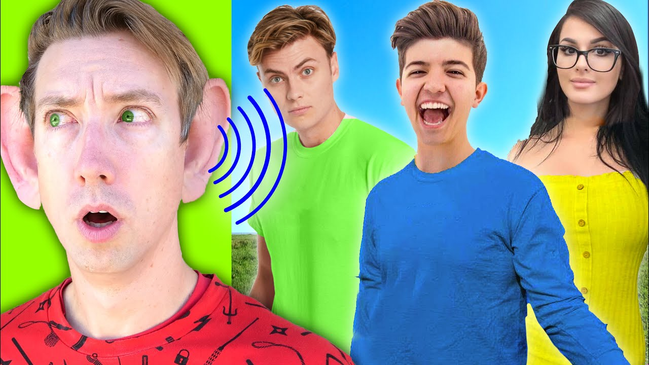 Guessing YouTubers Using ONLY Their VOICE to Find My Kidnapped Brother