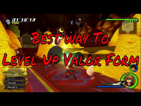How To Level up Valor Kingdom Hearts 2.5