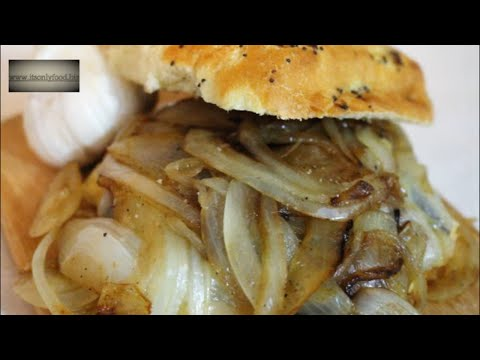 How to Make a Portobello Mushroom Sandwich | It's Only Food w/Chef John Politte