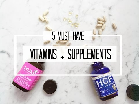 5 Best Supplements and Vitamins | Weight loss, Anxiety + Overall Health
