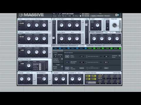 How to Make Skrillex Scatta Bassline/Growl in Massive