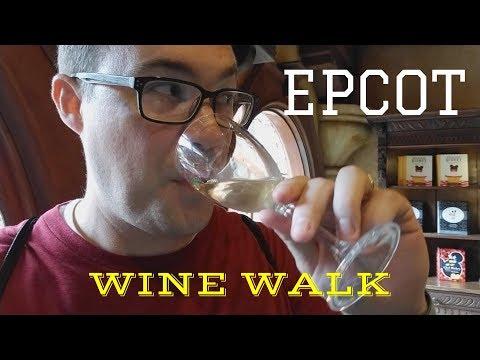 Epcot Wine Walk
