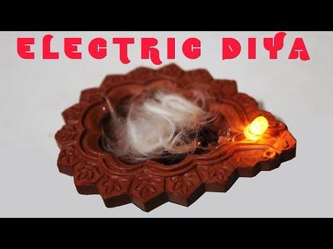 How To Make Electric Diya for festival lighting Diwali Dasara- kasnox