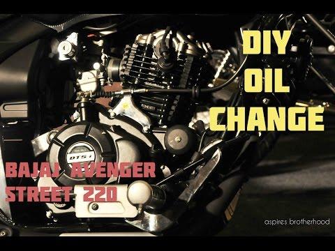 Bajaj Avenger Street 220 - DIY Engine Oil Change