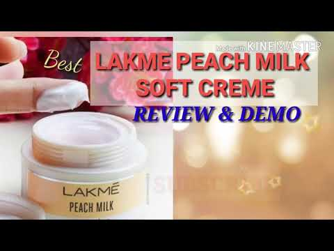 REVIEW ON LAKME PEACH MILK SOFT CREAM/DEMO/HINDI/BEST/GLAM INDIAN GIRL
