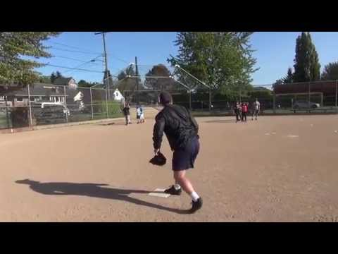 Base Running Drills: 'Running TO First Base' --- Primary Teaching Point --- Coaching Youth