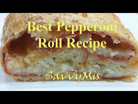 Best Pepperoni Roll Recipe