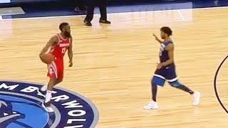 James Harden Shows Derrick Rose He Can