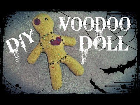 KAKO NAPRAVITI VUDU LUTKU /DIY - Make voodoo doll