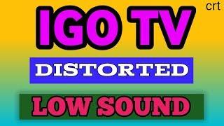 #Onida#Igotv#Sound_problem.How to solve Igo ultra slim crt tv sound problem.