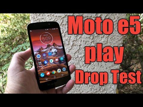 Moto e5 Play Drop Test - Will it Survive??