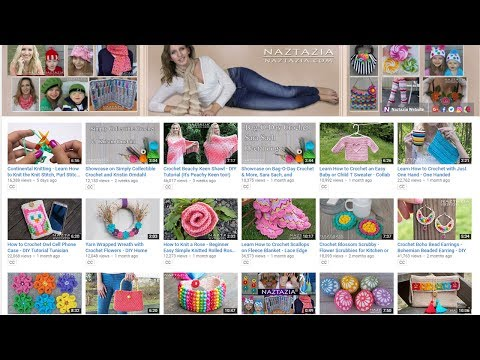 Donna Wolfe from Naztazia Reviews Her Free Patterns and Videos