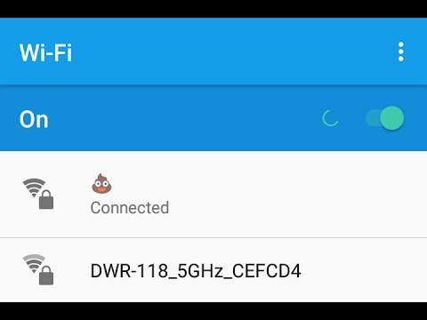 How to allow emojis 💩 or special characters in wifi network name (SSID) if your router blocks them
