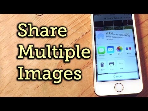 Share Multiple Images via Email & Messages on iOS 8 - iPad, iPhone, iPod touch [How-To]