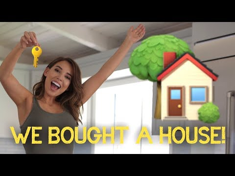 EMPTY HOUSE TOUR - WE BOUGHT A NEW HOUSE! | LUSTRELUX