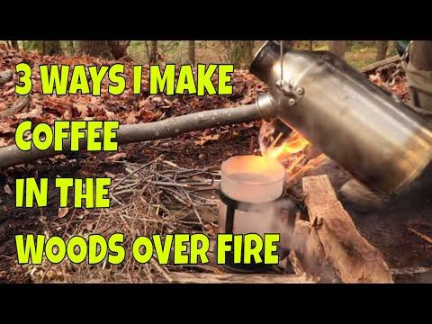 Three Ways I Make Coffee in the Woods